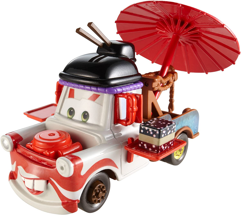 Amazon Com Disney Pixar Cars Maters Die Cast Vehicle Deluxe