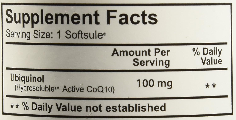 Amazon.com: 100 mg quinogel solubilized Ubiquinol (Ultra ...