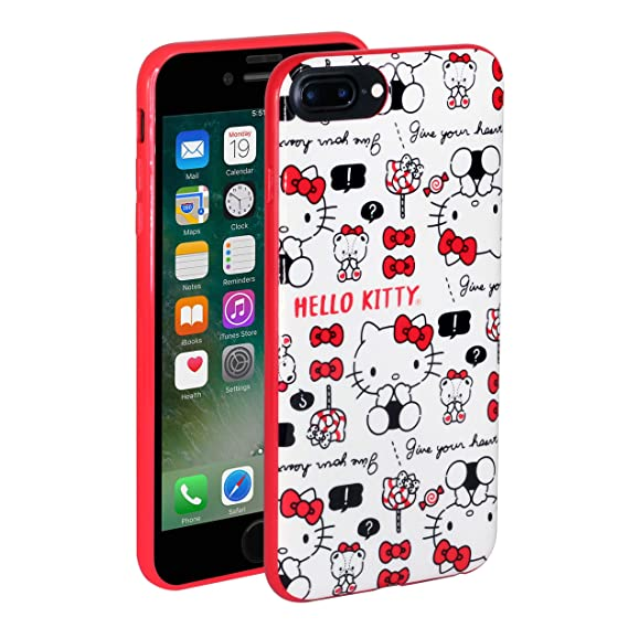 Amazon.com: Hello Kitty - Carcasa de TPU para iPhone 7 Plus ...