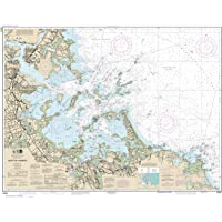 Paradise Cay Publications NOAA Chart 13270: Boston Harbor