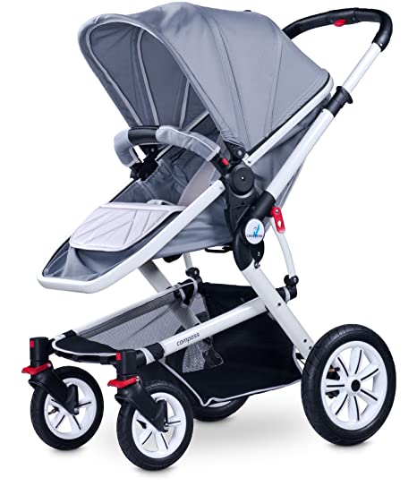 Caretero 2 en 1 Brújula sistema de viaje (gris): Amazon.es: Bebé