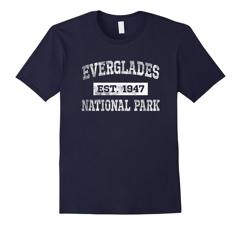 Everglades National Park T Shirt Est 1947 Distressed-TD
