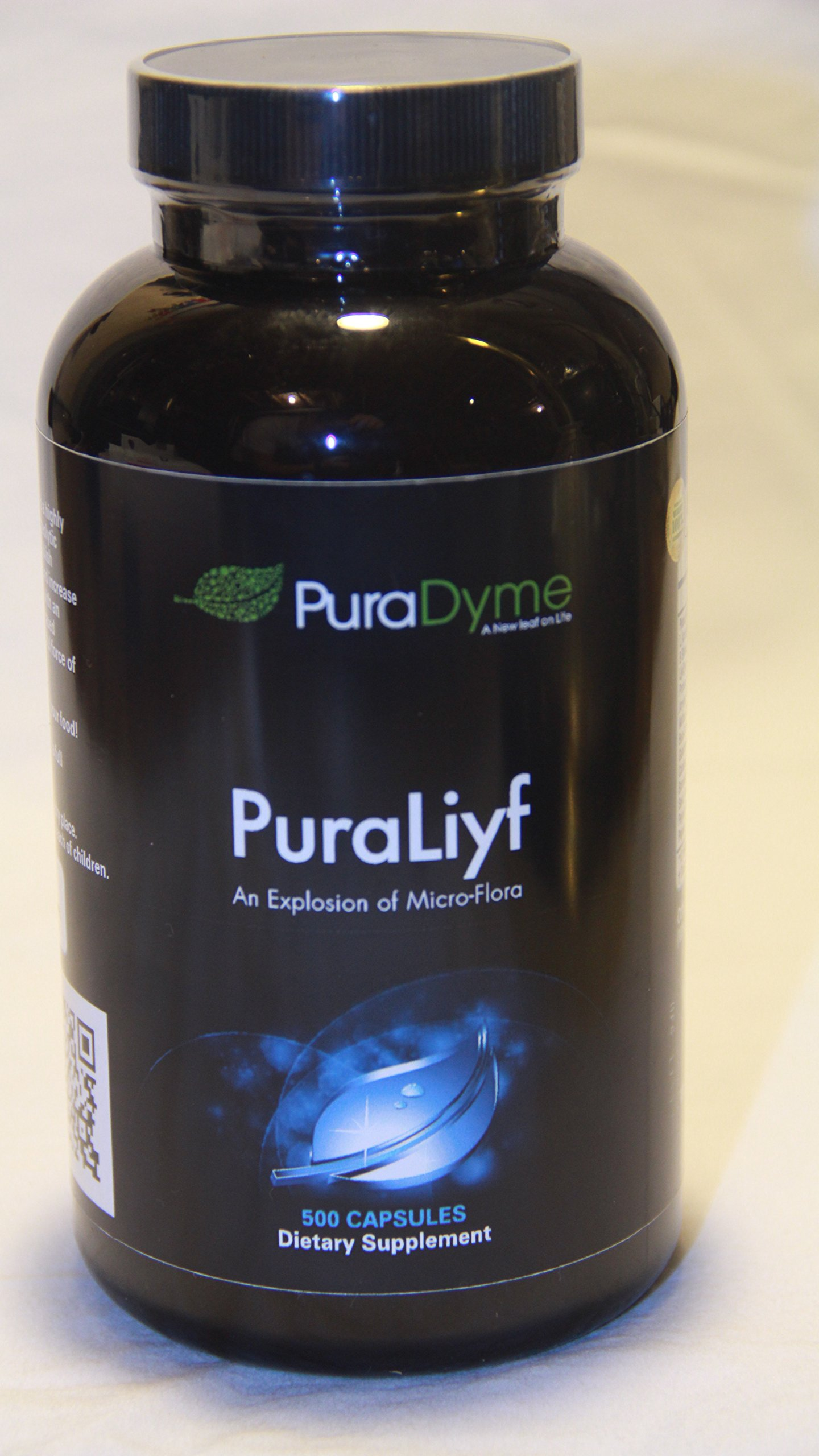 PuraLiyf 500 veggie capsules By Lou Corona