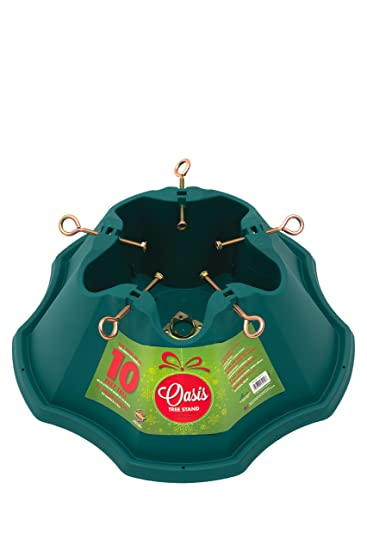 Christmas Tree Stand.Jack Post Oasis Christmas Tree Stand For Trees Up To 10 Feet 1 5 Gallon Water Capacity