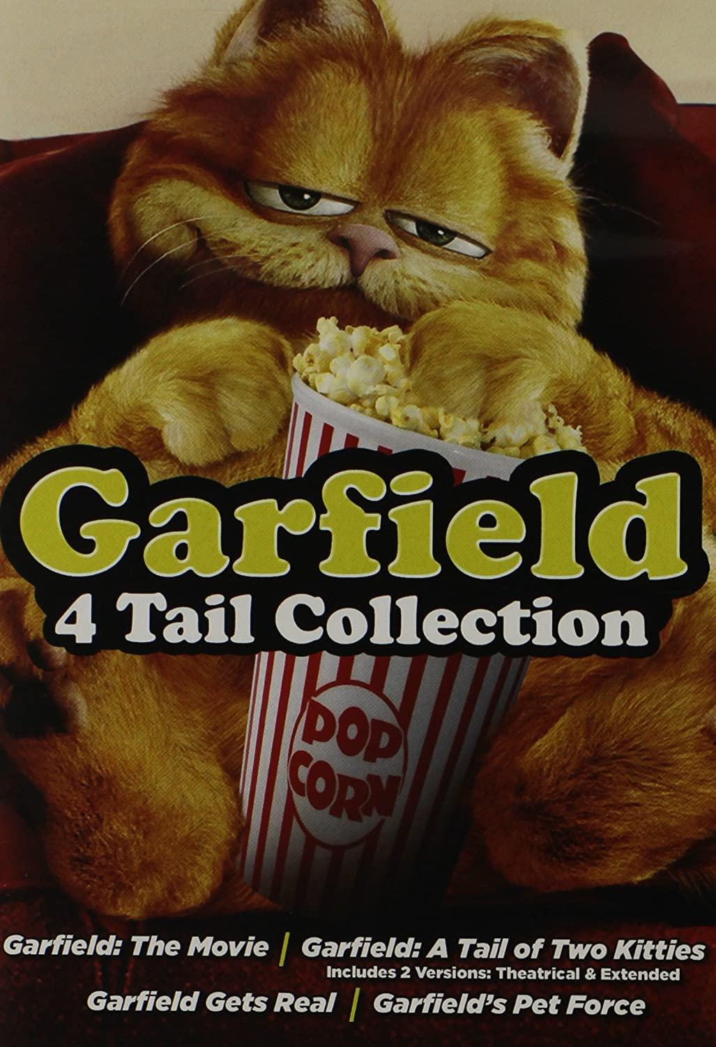 Amazon Com Garfield 4 Tail Collection Artist Not Provided Movies Tv