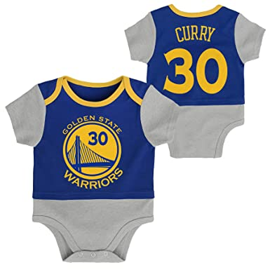 new concept d20d1 6147a Outerstuff Stephen Curry #30 Golden State Warriors Baby Shirt