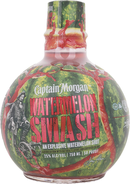 Rum Captain Morgan Watermelon Smash