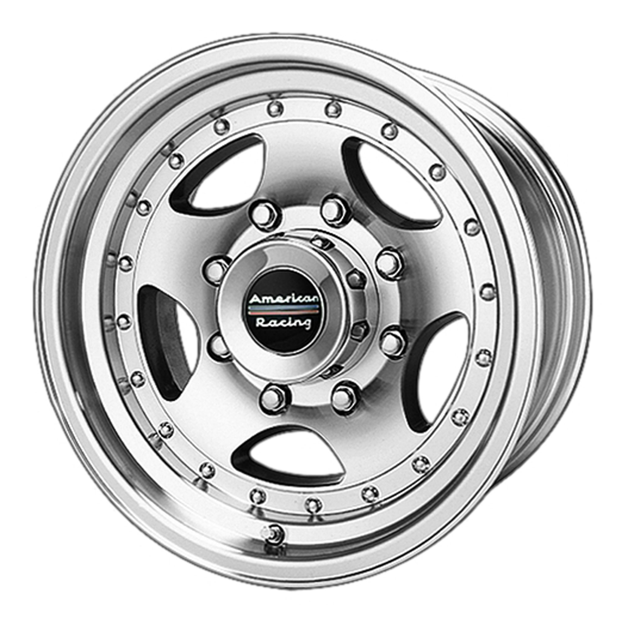 American Racing Custom Wheels AR23 Machined Wheel With Clearcoat (14x7''/5x114.3mm, 6mm offset)