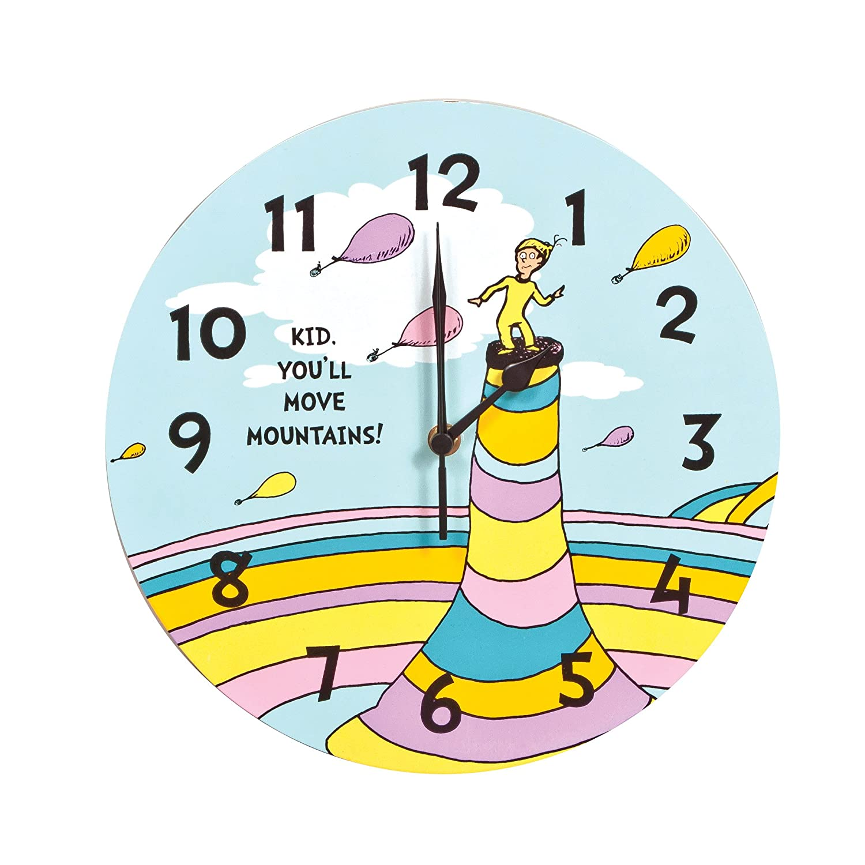 Amazoncom Trend Lab Dr Seuss Kid Wall Clock Youll Move