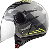 LS2 OF562 Airflow L Camo Open Face Motorcycle Helmet