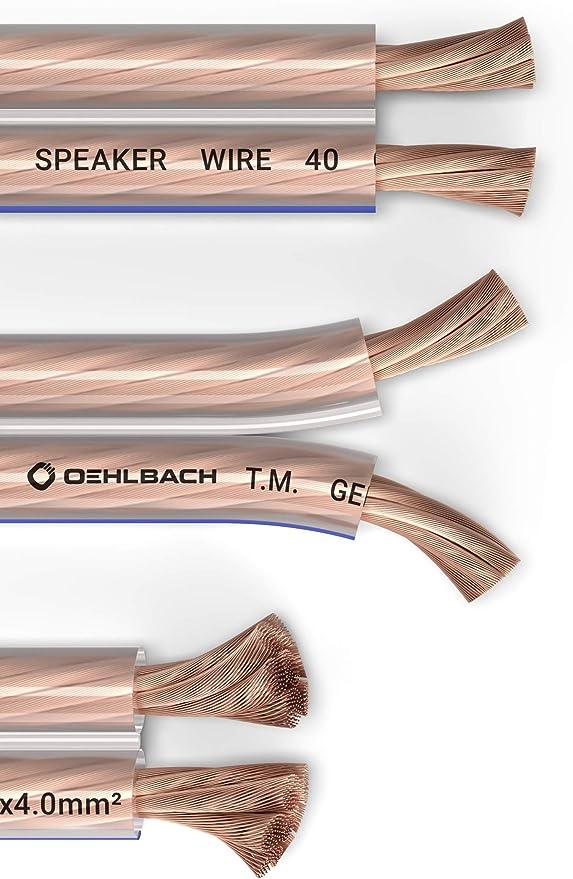 Oehlbach Speaker Wire Sp 40 Stereo Hi Fi Elektronik