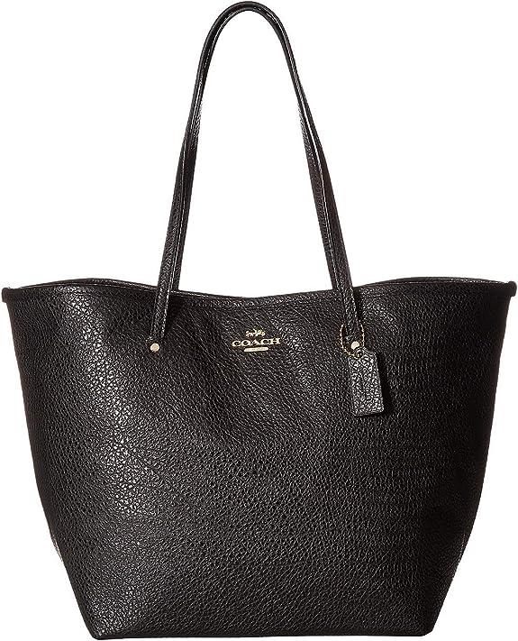 Polished Pebble Brown Leather big Satchel classic handbag
