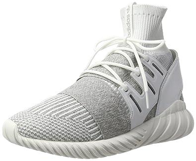 2bb9c22e4f9b adidas Men s Tubular Doom Primeknit Hi-Top Trainers  Amazon.co.uk ...