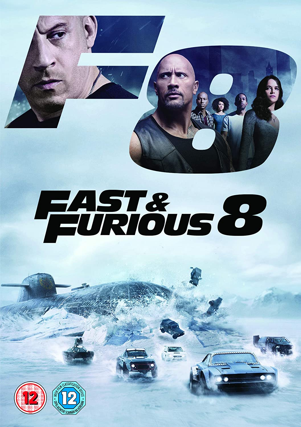 Fast and Furious 8 [DVD] [2017]: Amazon co uk: Vin Diesel