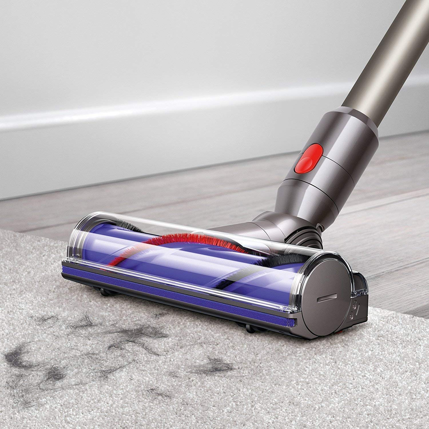 Dyson V8 Animal Cordless HEPA Vacuum Cleaner Manufacturer s Warranty Extra Mattress Tool Bundle