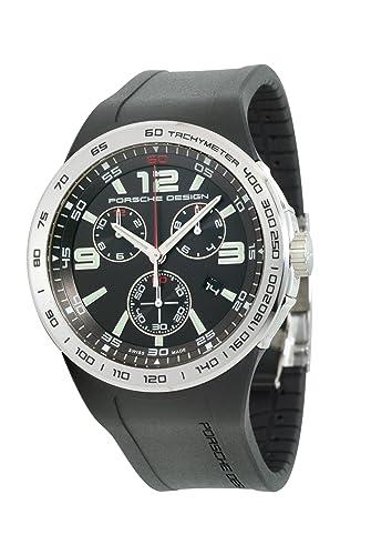 Porsche Design Flat 6 Quartz Cronógrafo p.6320 Black Señor Reloj de Pulsera: Porsche Design: Amazon.es: Relojes
