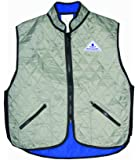 Techniche HyperKewl High-Collar Deluxe Sports Cooling Vest - SILVER - X-LARGE