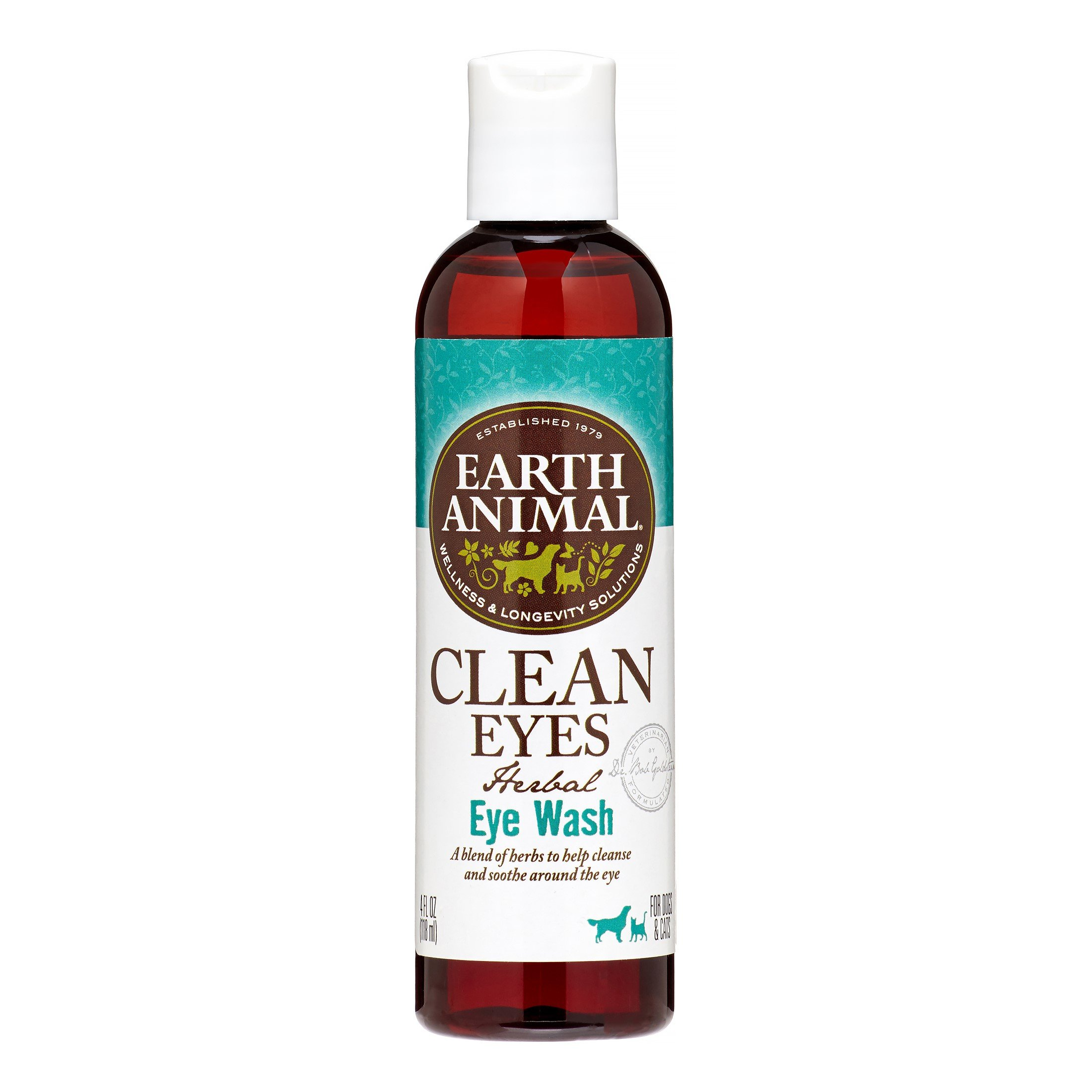 Earth Animal Clean Eyes for Dogs 4 oz