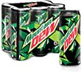 Mountain Dew Carbonated Soft Drink, 6 x 355 ml
