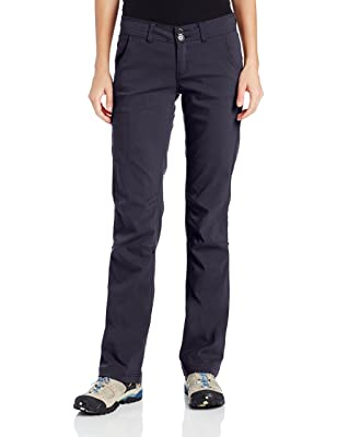 e97c684803462 The Prana Halle hiking pants are composed of a nylon and spandex blend that  provides stretch ...