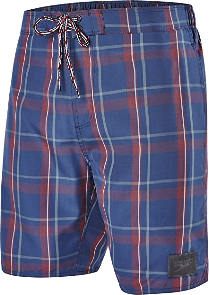 TALLA S. Speedo Boys 'yd Check Leisure 18-Inch Bañador, Niños, YD Check Leisure 18-Inch