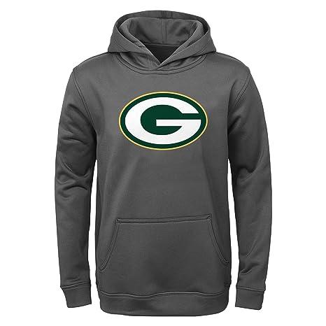Amazon.com   NFL Green Bay Packers Youth Boys 8-20 Performance ... 8ec158daa