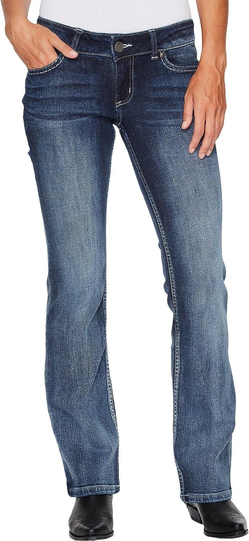 d15e7ad9 Wrangler Women's Retro Sadie Low Rise Jeans Medium Blue 13 at Amazon  Women's Jeans store