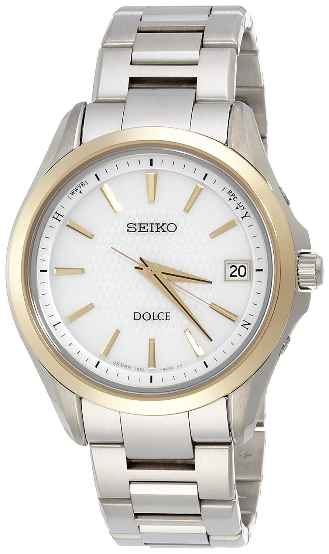 [ドルチェ]DOLCE 腕時計 ソーラー電波修正 サファイアガラス スーパークリア コーティング 日常生活用強化防水(10気圧) チタン SADZ178 メンズ B00WJ8TXRW