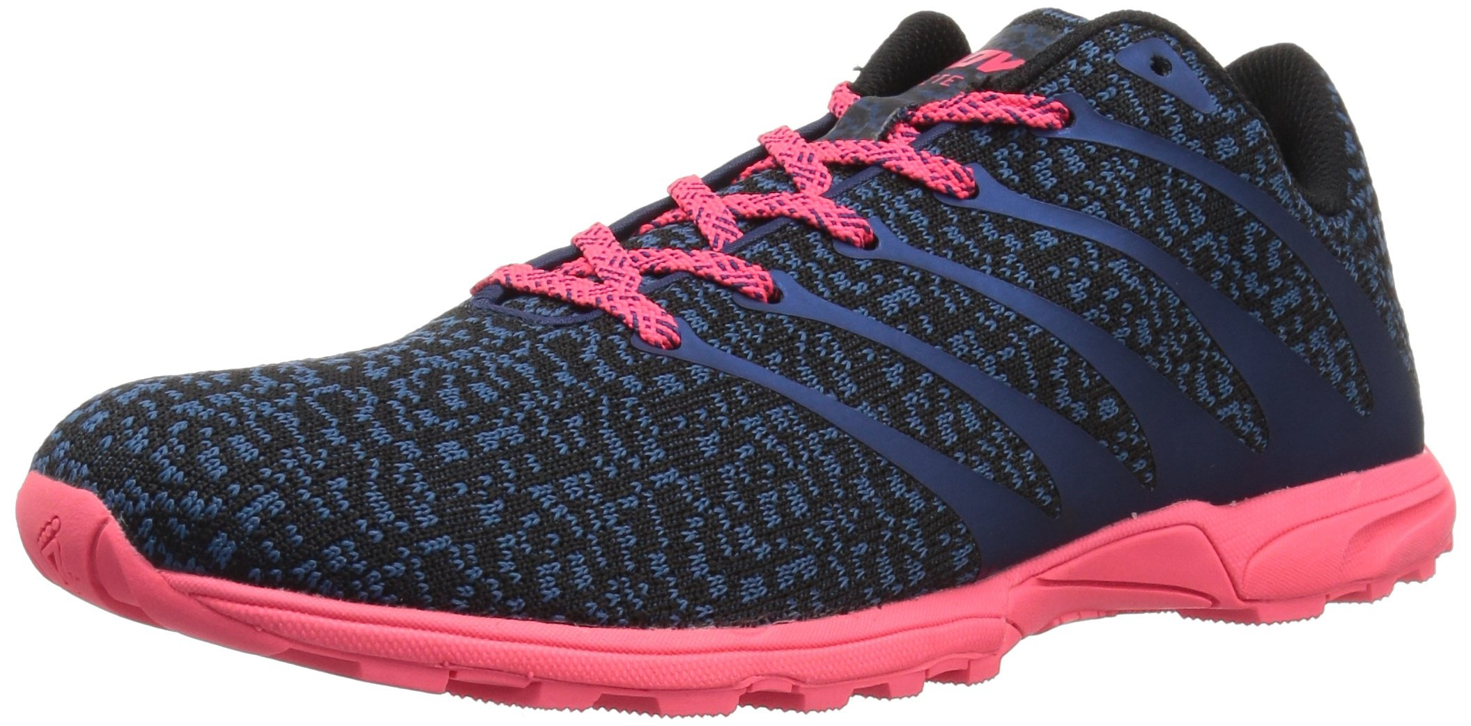 inov-8 Women's F-Lite 195 CL (W) Cross-Trainer-Shoes, Blue/Pink, 9 a US