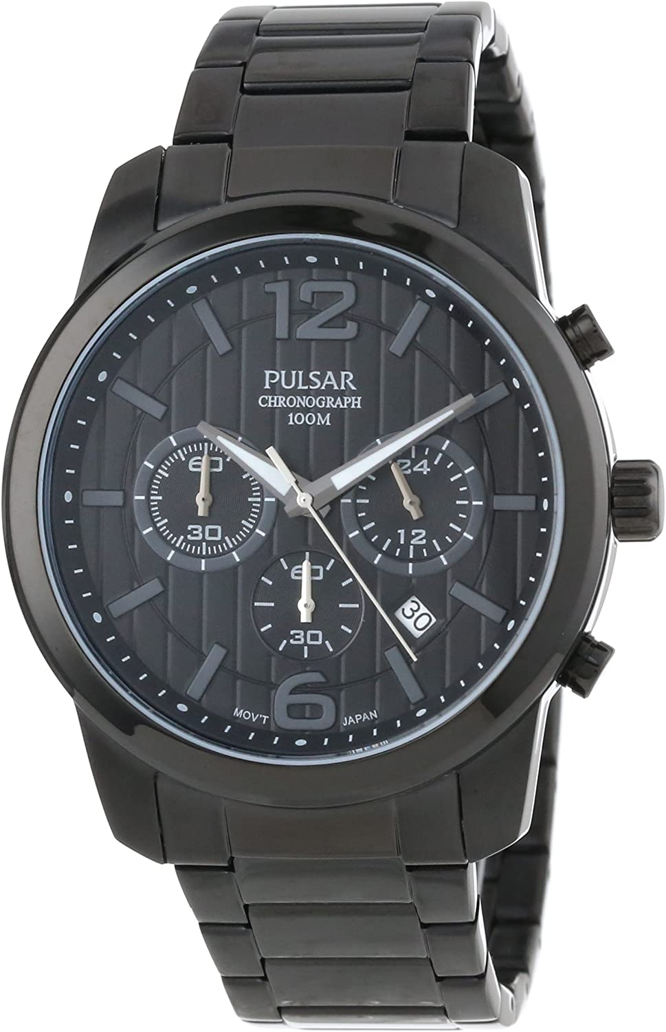 Pulsar Men s PT3287 Chronograph and Analog Calendar Collections Watch