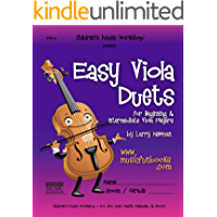 Easy Viola Duets: for Beginning and Intermediate Viola Players