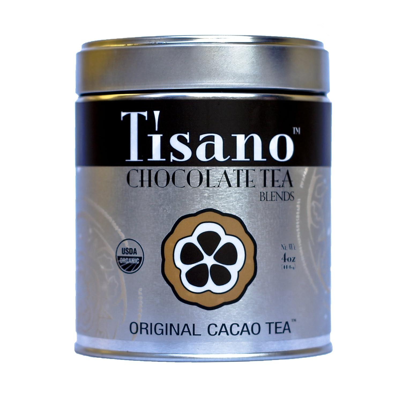 Amazon.com : Tisano Organic Chocolate Tea : Herbal Teas : Grocery ...