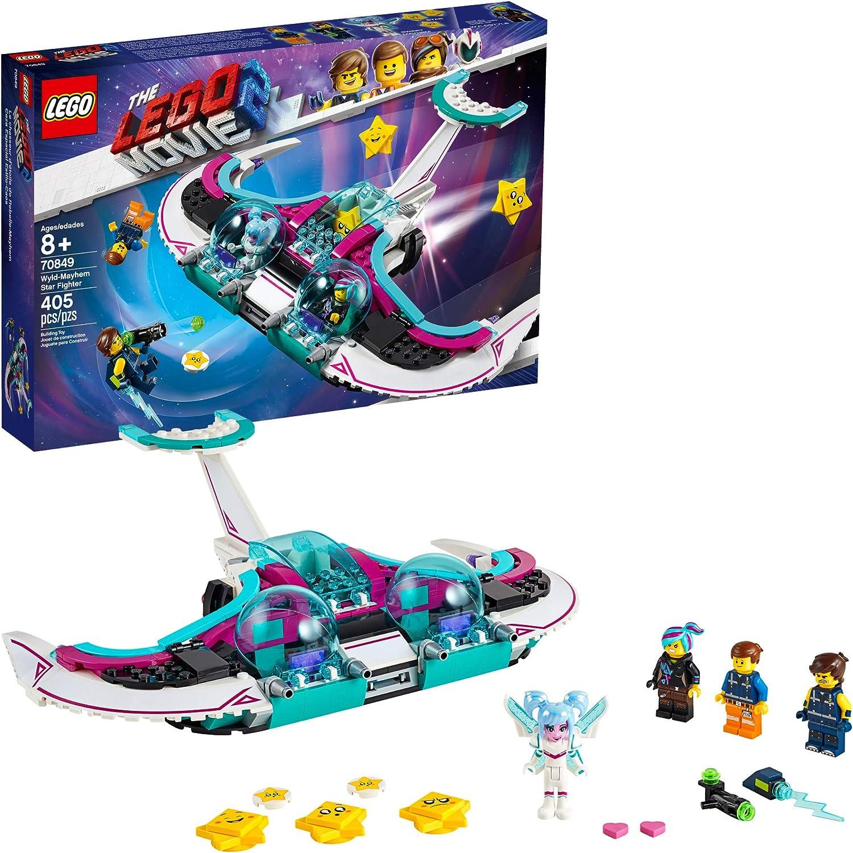 LEGO THE LEGO MOVIE 2 Wyld-Mayhem Star Fighter 70849 Building Kit (404 Pieces)