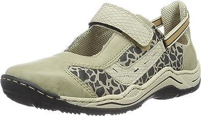 Rieker L0552 Women Low Top, Sneakers Basses Femme