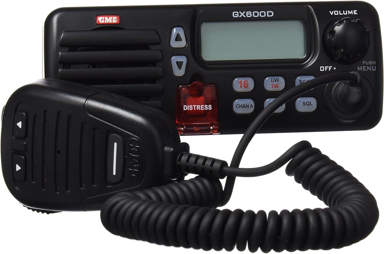 Gme Gx600D-B - Radio marina para barcos, color negro: Amazon.es ...