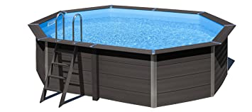 Gre kpcov66 Framed Pool Blue, Brown Above Ground Pool – Piscina Sobre Suelo (Framed