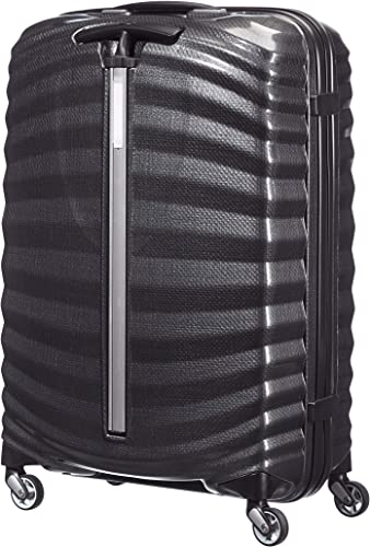 Samsonite Lite-Shock Suitcase 4 Wheel Spinner 69cm Black