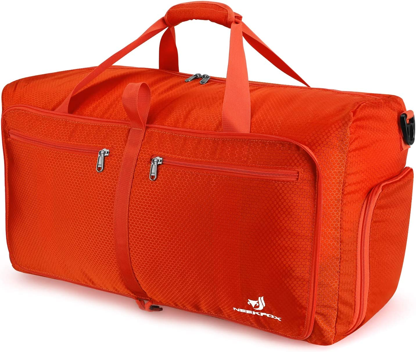 uk availability great prices 50% off NEEKFOX Foldable Travel Duffel Bag Large Sports Duffle Gym Bag Packable  Lightweight Travel Luggage Bag for Men Women (60L)