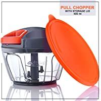 Artikel Chopper with Storage Lid | Chops Vegetables, Nuts & Fruits | Meat Mincer | Small - 400 ml