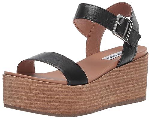 fc69ee80968c Steve Madden Womens Heiress Wedge Sandal  Amazon.ca  Shoes   Handbags