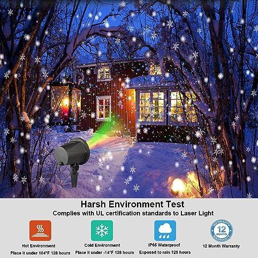 Luz de Proyector Navidad Lámpara LED Luz de Proyección InnooLight ...