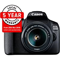 Canon EOS 1500D (18-55mm) DSLR Camera (AUST STK)