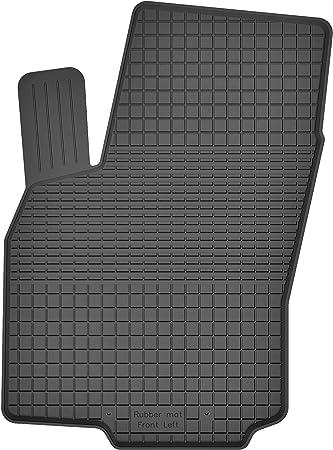 Ko Rubbermat 1 Stück Gummimatte Fußmatte Fahrer Geeignet Zur Opel Astra G H Bj 1998 2014 Ideal Angepasst Auto
