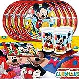 Mickey Mouse kit de fête d'anniversaire pour 16