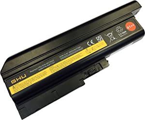 New GHU Laptop Battery 41++ Replacement for 40Y6795 92P1137 92P1141 40Y6797 Compatible with Lenovo Thinkpad T60 R60 T60p W500 42T4504 42T4511 42T4620 42T4621 92P1133 92P1139 92P1141 40Y6799 42T4619
