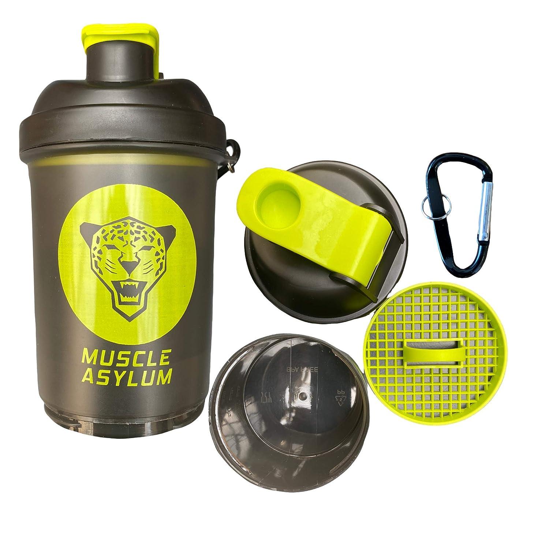 Muscle Asylum Shaker Bottle 500ml