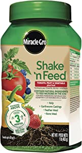Miracle-Gro Shake 'N Feed Tomato, Fruit & Vegetable Plant Food, 1 lb.