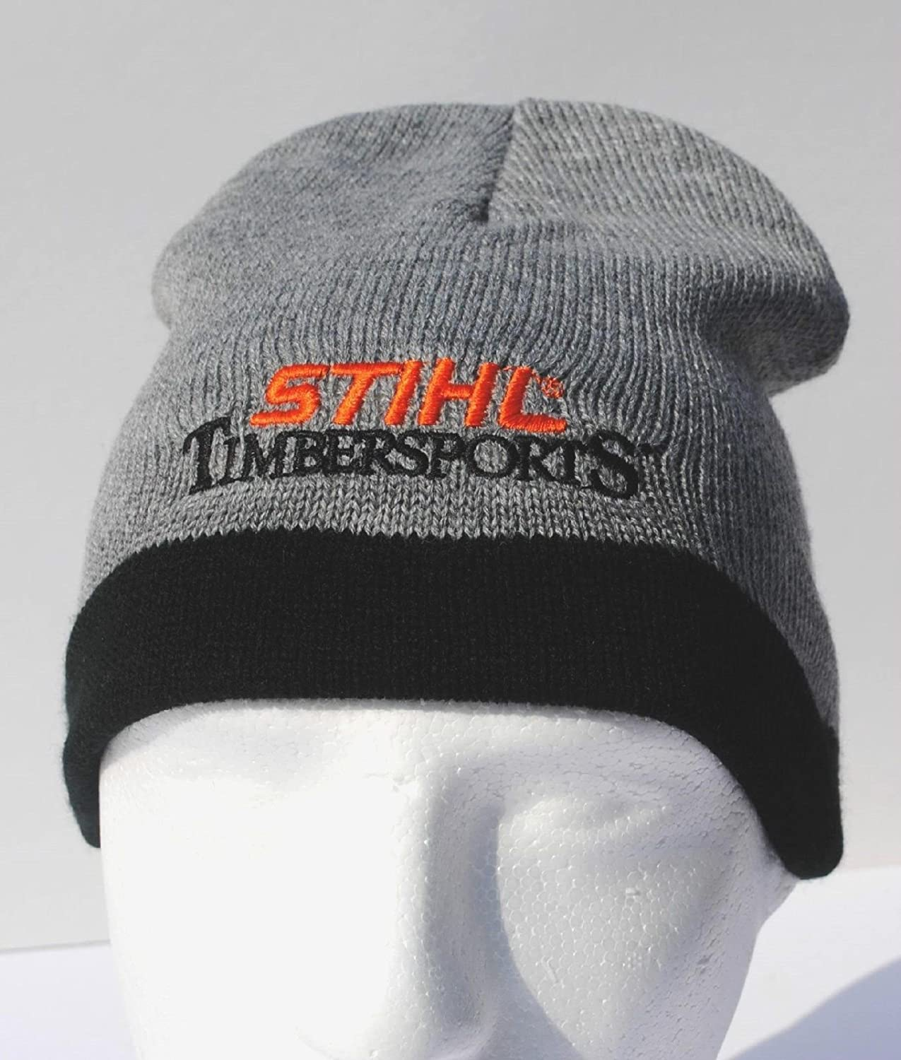 Amazon.com   STIHL gray and black knitted beanie   cap   hat   Everything  Else 48e0569c8be