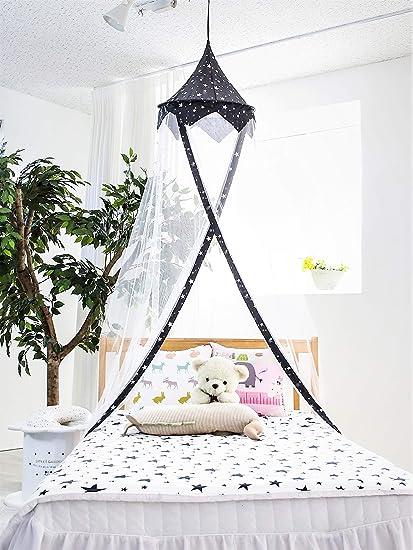 Amazon.com: Princess Canopy for Girls Bed – Girl\'s Room Baldachin ...