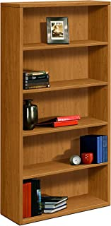 product image for HON 5-Shelf Bookcase with Fixed Shelves, 36 by 13-1/8 by 71-Inch, Harvest